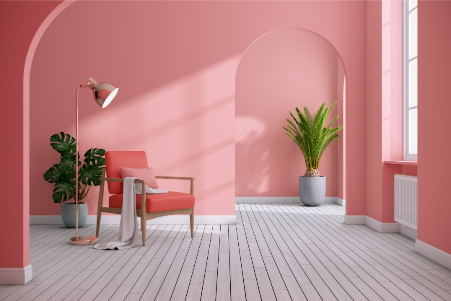 These Rooms Show Off Our Favorite Pink Wall Paint Paintzen