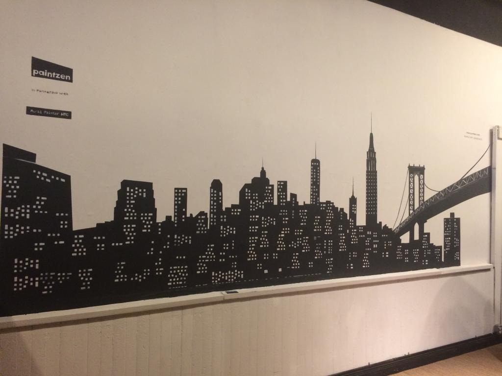 soho workspace - customer mural