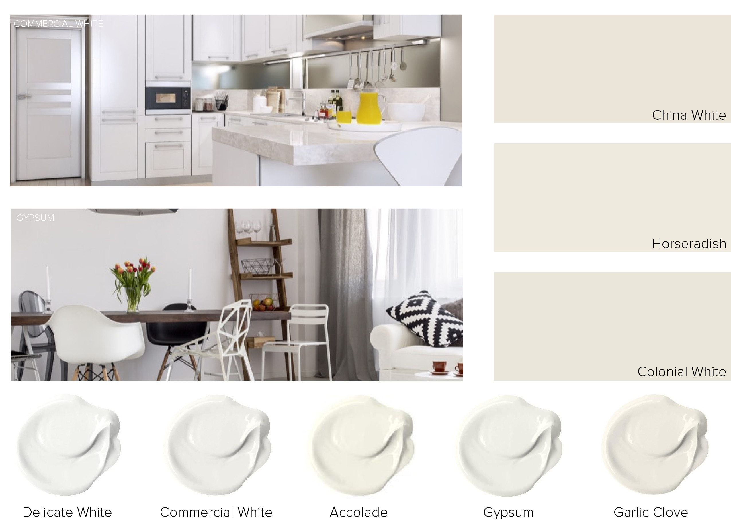 Shades Of White Paint