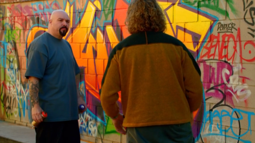 Colorful Spray Paint Mural from Silicon Valley with TJ Miller and Anthony Campos