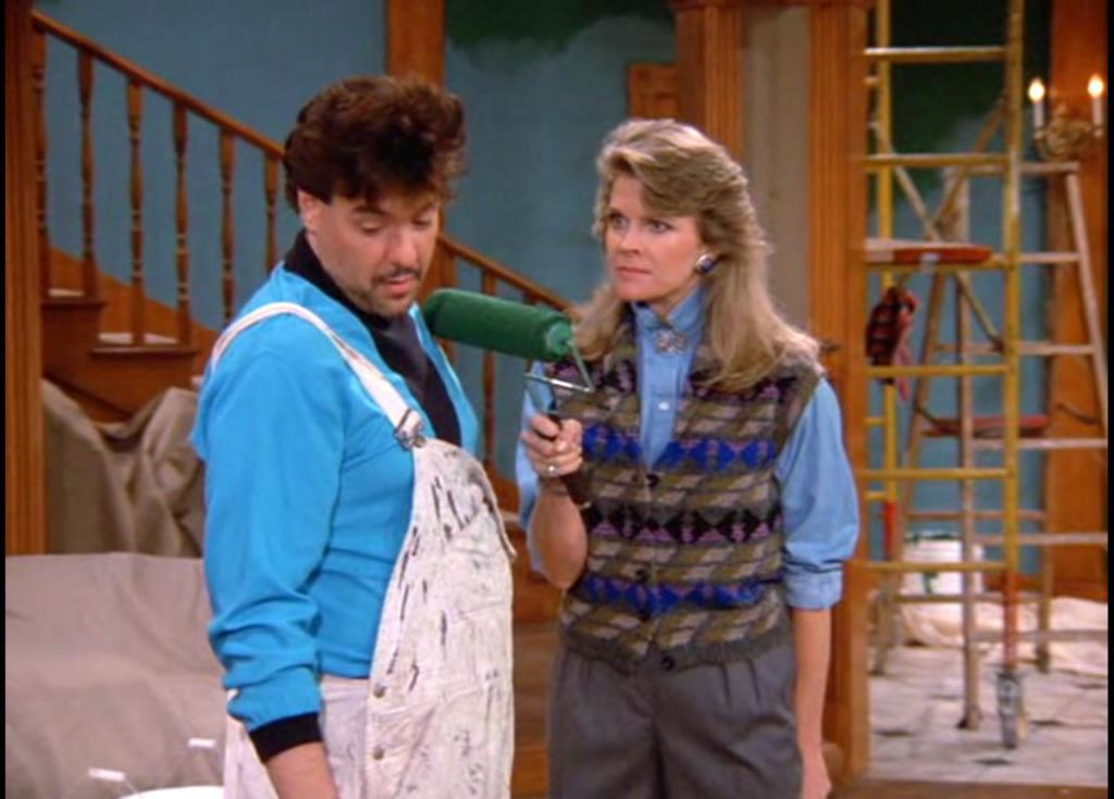 House Painter and Candice Bergen in Murphy Brown