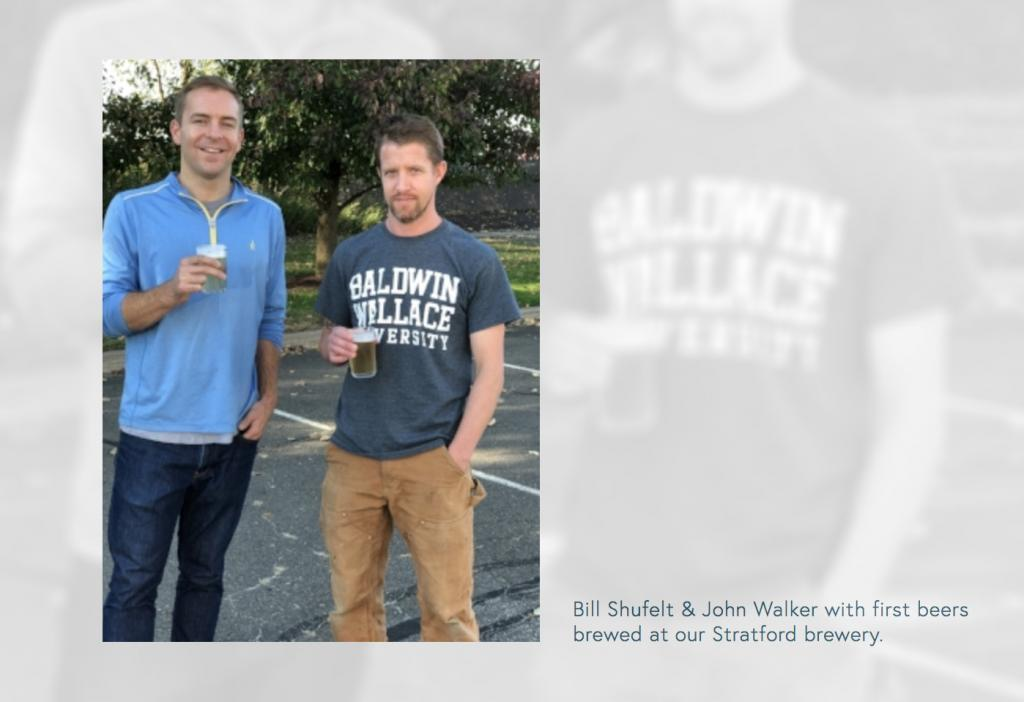 Bill Shufelt & John Walker of Athletic Brewing Company