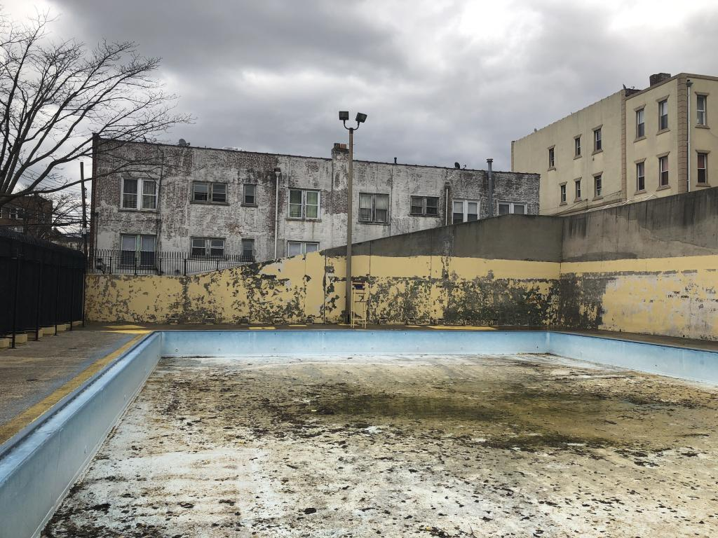 Fisher Pool in East Elmhurst Queens