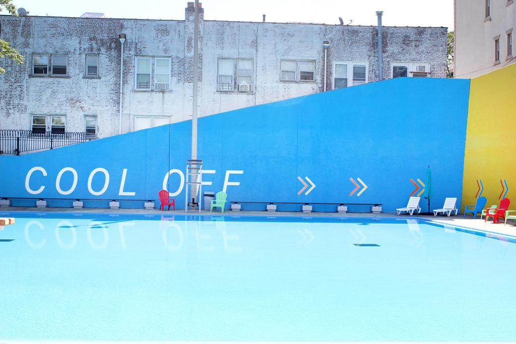 Fisher Pool in East Elmhurst Queens Renovation