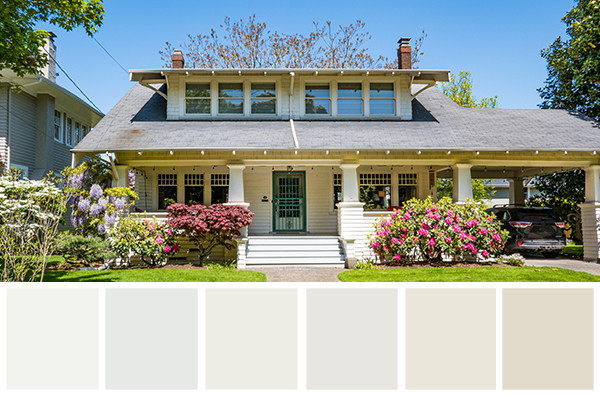 As One Of The Most Traditional And Functional Paint Colors, It Is No  Surprise That The Pacific Northwest Is Digging All The Different Shades Of  White.