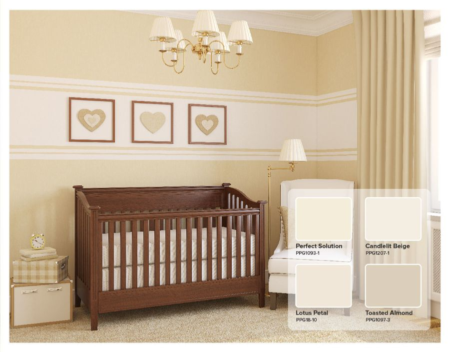 popular beige nursery colors