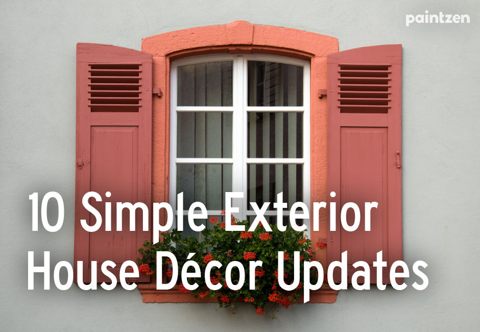 paint shutters and trim curb appeal