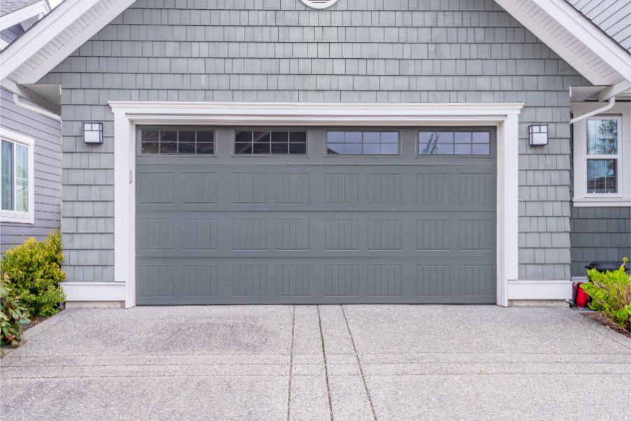 9 Garage Door Colors That Will Bring You Joy - Paintzen on Garage Door Paint Ideas  id=74002